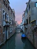 De wegen van Venetië Stock Fotografie