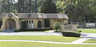 De Wegpatrouille van Florida stock fotografie