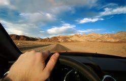 De wegreis van de Vallei van de dood Royalty-vrije Stock Foto's
