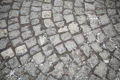 De wegtextuur van Cobbled Royalty-vrije Stock Fotografie