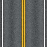 De wegtextuur van het asfalt Stock Fotografie