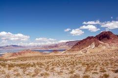 De Weide Las Vegas van het meer stock foto