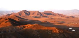 De weide van Bashang in inter-Mongolië van China Royalty-vrije Stock Afbeelding