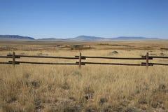 De Weide van Wyoming Stock Afbeeldingen