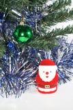 De weinig Kerstman stock foto