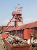 De Welse MijnbouwMachines van de Kuil royalty-vrije stock afbeelding