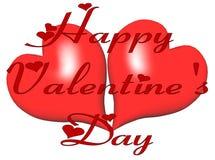 De Wens van de valentijnskaart Stock Afbeeldingen