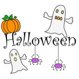 De wensen van Halloween stock illustratie