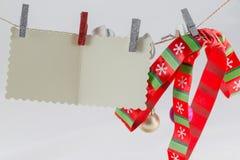 De wenslijst van de Kerstman Royalty-vrije Stock Fotografie