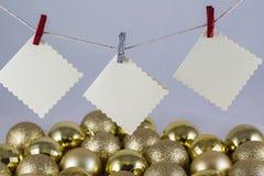 De wenslijst van de Kerstman Royalty-vrije Stock Foto's