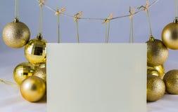 De wenslijst van de Kerstman Royalty-vrije Stock Afbeelding