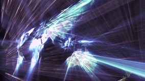 De wereld en informatietechnologie Stock Foto