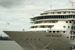 De 'wereld'' Lijnboot in Liverpool, Stock Foto's