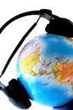 De wereld is listenig Royalty-vrije Stock Afbeelding