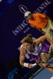 De wereld No 20 tennisspeler Sara Errani Royalty-vrije Stock Foto