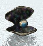 De wereld is uw oester Royalty-vrije Stock Foto's