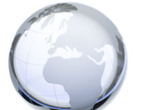 De wereld van Cristal Royalty-vrije Stock Foto