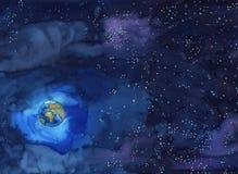 De wereld van de aarde Stock Foto's