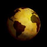 De Wereld van de bol vector illustratie