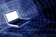 Computerwereld royalty-vrije stock fotografie
