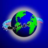 De Wereld van de kerstman royalty-vrije illustratie