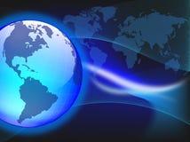De wereld van de technologie Royalty-vrije Stock Afbeeldingen