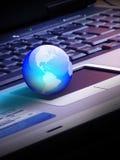 De wereld van de technologie Royalty-vrije Stock Afbeelding