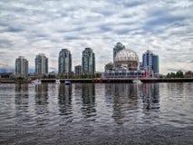 De Wereld van de wetenschap in Vancouver Stock Foto