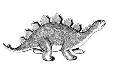 De wereld van Dino Stock Foto's