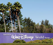 De Wereld van Disney Royalty-vrije Stock Foto's