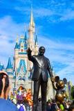 De Wereld van Disney van Walt Stock Foto's