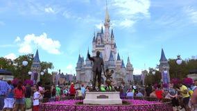 De Wereld van Disney van Walt Magisch Koninkrijk orlando De V.S. stock footage