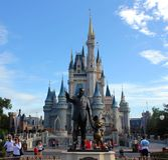 De Wereld van Disney van Walt Royalty-vrije Stock Fotografie