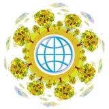De wereld van Eco Stock Afbeeldingen