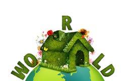 De wereld van Ecologic royalty-vrije stock afbeeldingen