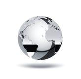 De wereld van het chroom vector illustratie