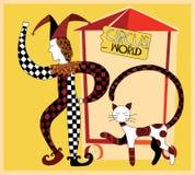 De wereld van het circus Royalty-vrije Stock Fotografie