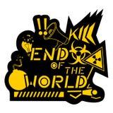 De wereld van het eind Stock Fotografie