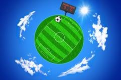 De wereld van het voetbal Royalty-vrije Stock Foto's