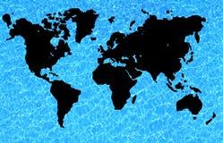 De wereld van het water royalty-vrije stock afbeeldingen
