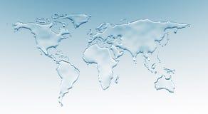 De wereld van het water stock foto's