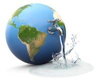De wereld van het water stock illustratie