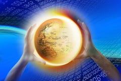 De wereld van Internet www Royalty-vrije Stock Foto