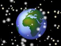 De Wereld van Kerstmis royalty-vrije illustratie
