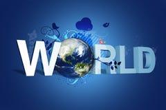 De wereld van Ontwerp Royalty-vrije Stock Foto