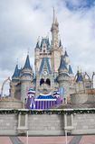 De Wereld van Walt Disney van het Kasteel van Disney Cinderella Stock Afbeelding