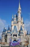 De Wereld van Walt Disney van het Kasteel van Disney Cinderella Stock Fotografie