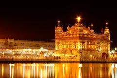 De wereldberoemde Gouden Tempel Stock Afbeeldingen