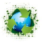 De wereldconcept van het recycling royalty-vrije illustratie