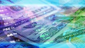 De wereldeconomie, financiën, zaken, investeert behang Stock Fotografie